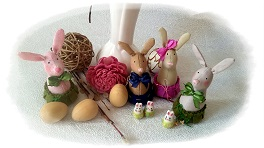 пасхальный заяц из ткани мастер класс
